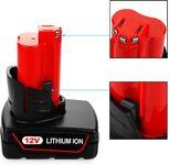 VANON 48-11-2402 Аккумулятор 6000mAh M12 12V for Milwaukee