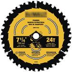 DeWALT DWA171424 7-1/4-Inch 24T Пильный диск по дереву