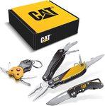 Cat подарочный набор многофункционального инструмента из 3 предметов и карманного ножа - 240192