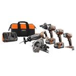 RIDGID R9652 Gen5X 18V набор инструментов 5 шт