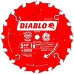 DIABLO D0516X Пильный диск по дереву 5-3/8x16T