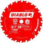 """Freud D0624X Diablo 165 мм 6-1 / 2"""" 24 зуба"""