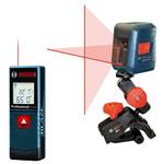 BOSCH GLL2CP Набор- лазерный измеритель BLAZE GLM 20 и самовыравнивающийся перекрестный лазер GLL 2.