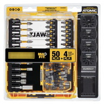 DEWALT DWA050SET Набор бит 50 шт. и 4 лезвия мультитула