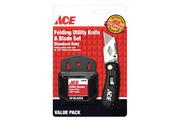 ACE 2199644 Нож строительный, лезвия 50шт