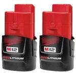 Milwakee 48-11-2411 M12 REDLITHIUM Compact 1.5Ah Аккумулятор