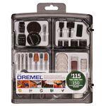 DREMEL 711-01 Набор аксессуаров из 150 предметов