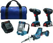Bosch CLPK496A-181 18V Набор инструментов