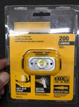 DeWALT DWHT81424  Сенсорный налобный фонарь (200 люмен)