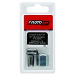 Roto zip CN1 3,2мм, 4мм и 6,3мм Сменные цанговые патроны и комплект цанговых гаек