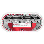Craftsman 9-37672 5 pack 7-1/4 in.(185мм) - 40T, 26T(2), 60T, 140T